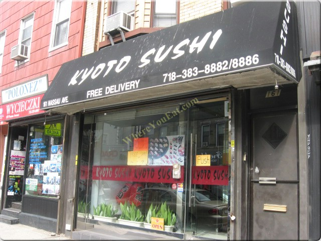 Kyoto Sushi Restaurant In Brooklyn Official Menus Photos