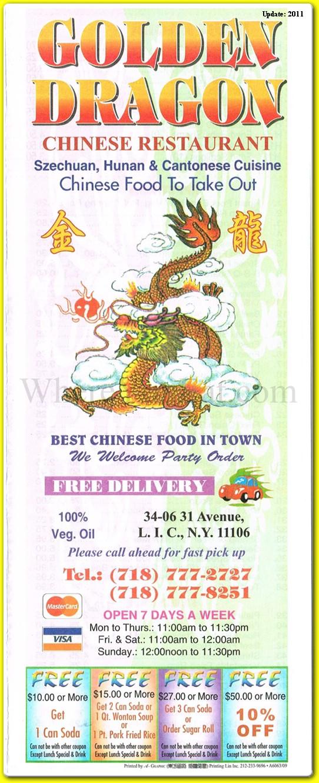 Golden dragon astoria menu wen sheng chang pharmaceuticals